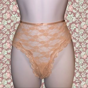 New! Smart & sexy peach lace panties